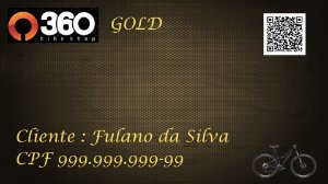 1 - 360 Bike Shop - Cartão Gold - 1 Bike