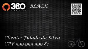 3 - 360 Bike Shop - Cartão Black - 1 Bike