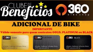 4 - 360 Bike Shop - Adicional de Bike - 1 Bike