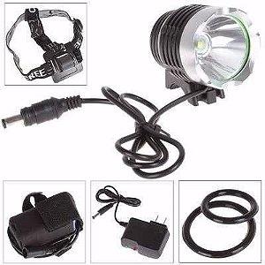 Farol Dianteiro 1000 Lumens Recarregavel USB