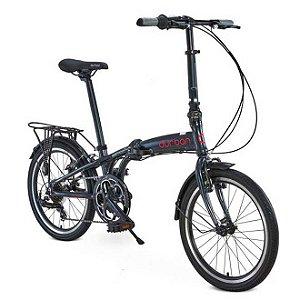 Bicicleta Dobrável Aro 20 Durban Sampa Pro Azul