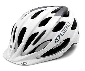 Capacete Giro Revel Branco Prata