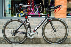 Bicicleta Speed Argon 18 E80 - Tamanho 54 - Seminova