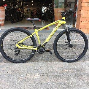 Bicicleta 29 Mountain Bike Viking Amarela - Quadro 17 ou 19