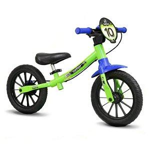 Bicicleta Infantil Balance Bike Nathor - Verde