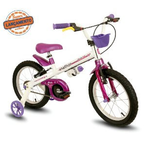Bicicleta Infantil Nathor Aro 16 Bella