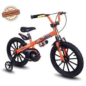 Bicicleta Infantil Extreme Nathor Aro 16 Laranja/ Preto