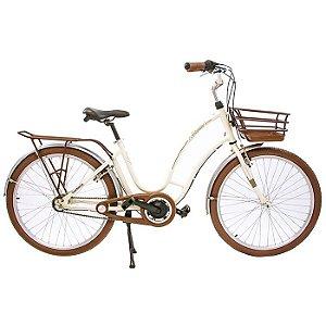 Bicicleta Feminina Aro 26 Nathor Antonella Perola