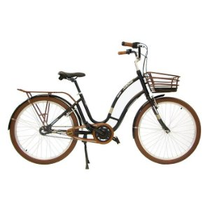 Bicicleta Masculina Aro 26 Nathor Anthon Preta