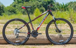 Bicicleta Tropix Tor R29 T15.5 24v Acera Fdh Sst Preta/vermelho/branco