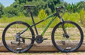 Bicicleta Tropix Andrew R29 T15.5 24v Tourney Fdm Scto Preta/verde