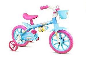 Bicicleta Nathor Candy Infantil R12 Azul/rosa
