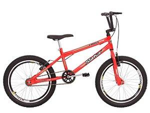 Bicicleta Status Cross Action R20 Laranja Neon