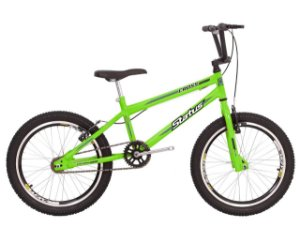 Bicicleta Status Cross Action R20 Verde Neon