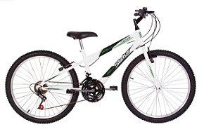 Bicicleta Status Lenda R24 18v Branca
