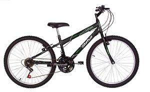 Bicicleta Status Lenda R24 18v Preta Fosca