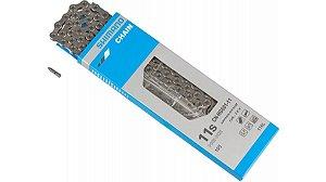 Corrente Shimano Cn-hg601 11v Slx 116 Elos Prata Pack