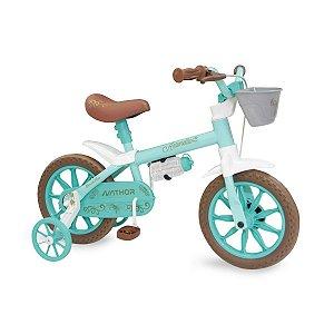 Bicicleta Infantil Antonella Nathor Aro 12 Verde
