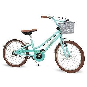 Bicicleta Infantil Antonella Nathor Aro 20 Verde
