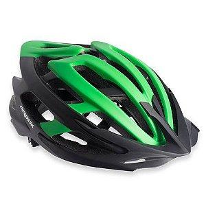 Capacete Ciclismo Arbok Escalera Preto/Verde Fosco