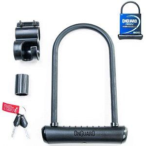 Cadeado OnGuard U-Lock Neons 8153 Preto