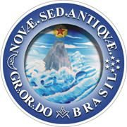 Adesivo - GOB (Grande Oriente do Brasil) - Redondo