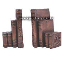 Porta Livros - Maçônico - Metalizado Bronze