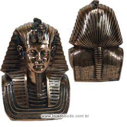 Busto Faraó - Cobre (22cm)
