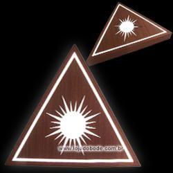 Delta com Sol - Iluminado (LED)