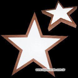 Estrela de Cinco Pontas - Iluminado (LED)
