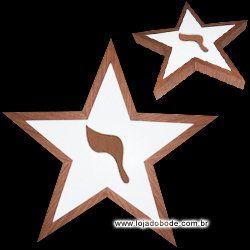 Estrela de Cinco Pontas com Yod - Iluminado (LED)