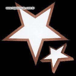 Estrela de Cinco Pontas Invertida (Estrela do Oriente) - Iluminada