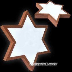 Estrela de Seis Pontas - Iluminado (LED)