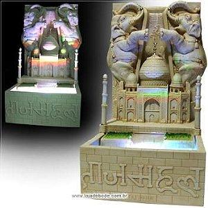Fonte Taj Mahal - com iluminação interna