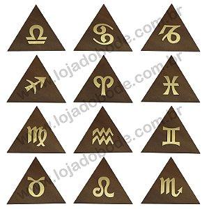 Conj. Símbolos do Zodíaco (simples)
