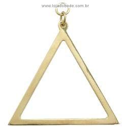 Jóia Mestre de Cerimônias - (Triângulo) - Dourada ou Prateada