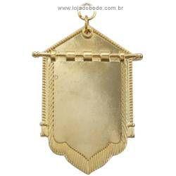 Jóia Porta Estandarte (Estandarte) - Dourada ou Prateada