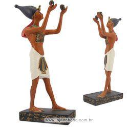 Estatueta Sacerdote Egípcio - 22cm