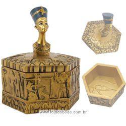 Porta Objetos Sextavado Nefertiti