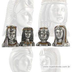 Porta Velas Rainhas do Egito (castiçal)