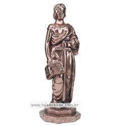 Deusa da Justiça - 30cm - Metalizado (Bronze/Dourado/Prateado)