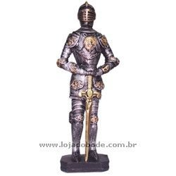 Guerreiro Medieval com Espada - 31cm