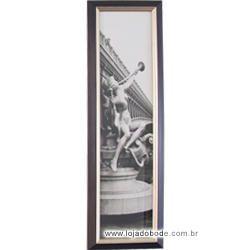 """Quadro """"Joias da Arquitetura"""" Estatua Feminina"""
