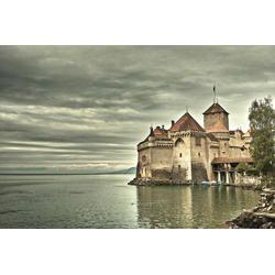 Tela - Castelo de Chillon - Suiça