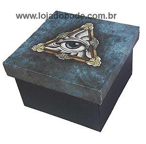 Caixa - Porta Objetos - Olho que Tudo Vê - 9cm x 9cm