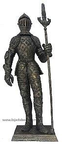 Guerreiro Medieval com Lança - 65cm