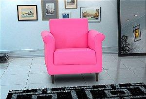 Poltrona Decorativa Betina - Rosa corino