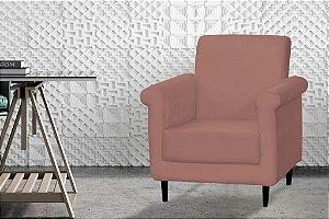 Poltrona Decorativa Betina - Rose