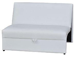 Sofá Cama Malu - Branco corino