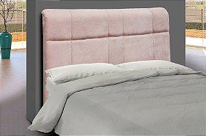 Cabeceira para cama Casal 140 cm Eros - Rosa